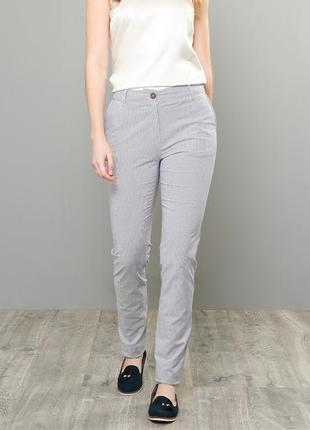 1+1=3 идеальные cерые чинос узкие брюки с подворотом blue motion, размер 44 - 46