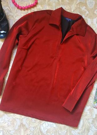 Яркая красивая блуза. на бирке- 3х(56-58)