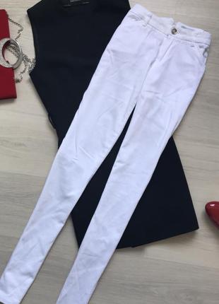 Белие брюки