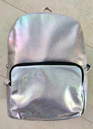 Супер классный голографический городской рюкзак