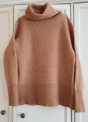 Базовый свитер, шерсть, s