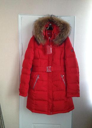 Новый женский пуховик  куртка snowimage размер xxl( 52 )