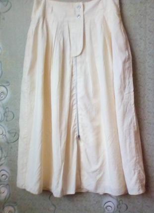 Винтаж итальянская юбка с карманами.