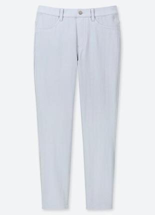 Женские ультра стретчевые 7/8 леггинсы брюки uniqlo