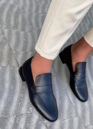 Лоферы кожаные туфли кожаные балетки кожаные лодочки кожаные
