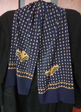 Стильный, деловой, мужской шарф