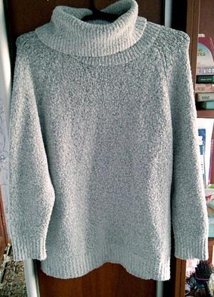 Удлиненный свитер с высоким горлом atmosphere