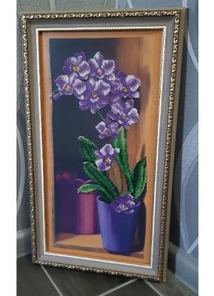 """Продам картину """"орхидея"""""""