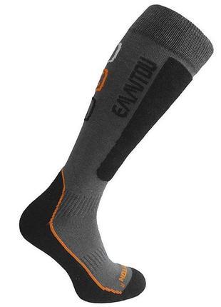 Шкарпетки лижні emmitou 44-46 black-orange
