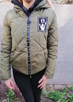 Куртка хаки,