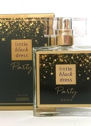 Парфюмерная вода avon little black dress party