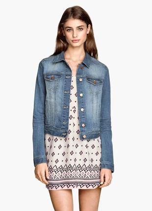 Джинсовая куртка , джинсовка h&m