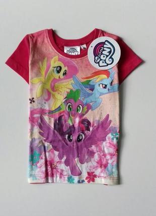 Яскрава футболка disney - my little pony