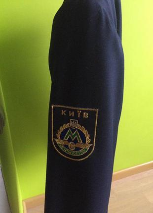 Костюм форма машиниста метро новый : пиджак куртка на молнии + брюки10 фото