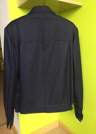 Костюм форма машиниста метро новый : пиджак куртка на молнии + брюки5 фото