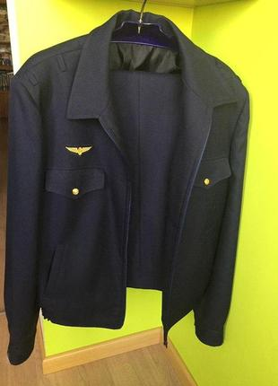 Костюм форма машиниста метро новый : пиджак куртка на молнии + брюки3 фото