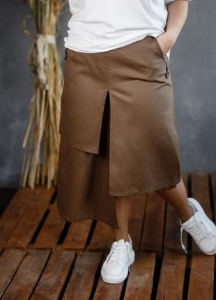 Дизайнерская натуральная хлопковая юбка украина италия много моделей
