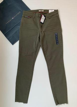 Джинсы tommy hilfiger denim skinny. оригинал