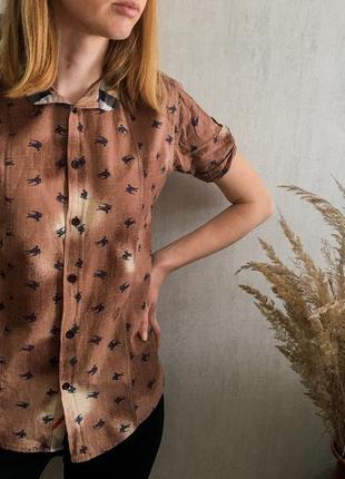 Рубашка burberry (оригинал)