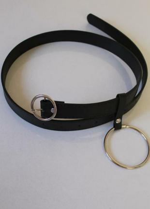 Модный, трендовый ремень с кольцом accessorize