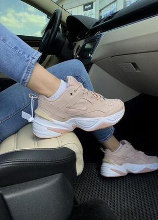 Nike m2k tekno pink 🔺 женские кроссовки найк м2к текно розовый