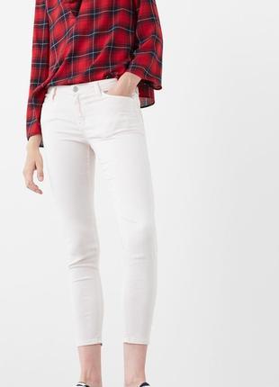 Пудровые джинсы от мango, 36р, испания, оригинал