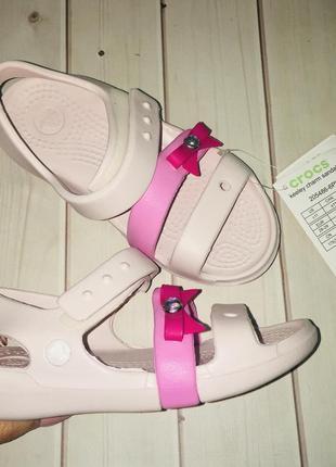 Нові босоніжки крокс ліна crocs lina оригінал с10 27-28, с12 29-30, і с13 30-31