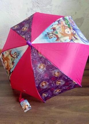 София фирменный зонт для девочек дисней