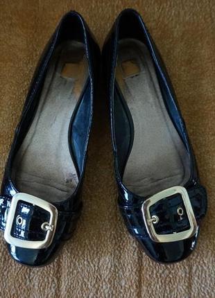 Туфли, балетки лаковые