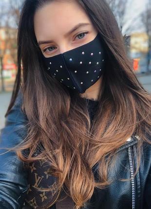Маска защитная ,многоразовая ,маска питта ,маска из неопрена