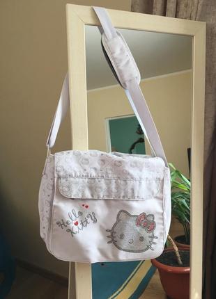 Спортивна сумка/сумка для техники/детская сумка hello kitty