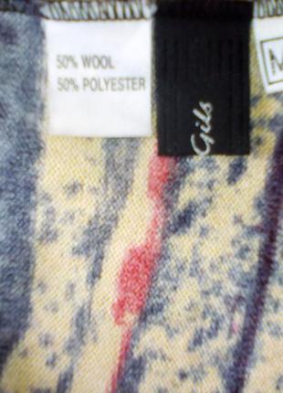 Яркое платье (van gils), размер м, на груди -вырез,качество -супер.4 фото