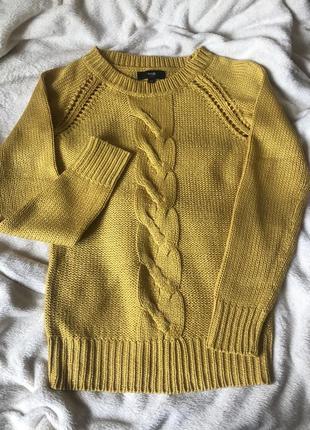 Яркий вязаный свитер джемпер oogji #розвантажуюсь