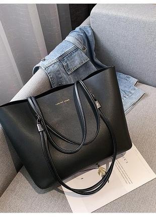 Новая сумка шоппер из эко кожи