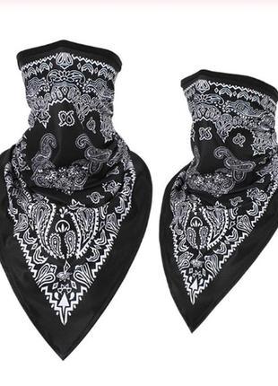 Бафф функциональный с орнаментом; бандана вело мото маска шарф унисекс