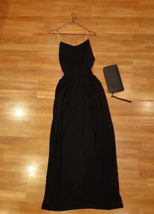 Вечернее платье. с открытой спиной