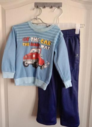 Комплект для прогулок и двора спортивные штаны реглан