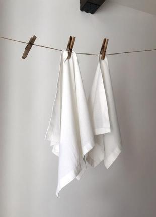 Полотенце из льна