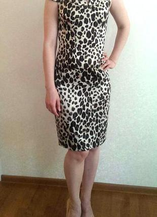 Леопардовое платье natali bolgar