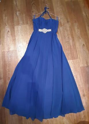 Шикарное платье нарядное выпускной торжество
