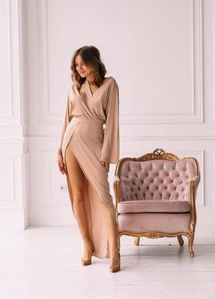 Элегантное платье из шелка армани🔥