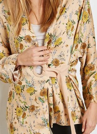 Кимоно пиджак накидка манго