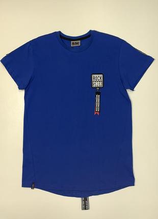Синяя футболка cegisa для мальчика подростка 11-13 лет.