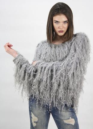 Классный  бредовый свитер f&f