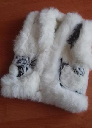 Меховая жилетка для девочки 3-4лет.