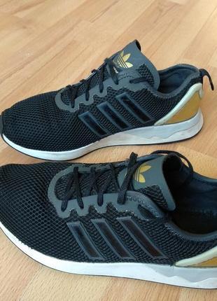 Кроссовки adidas original mens zx flux adv black gold