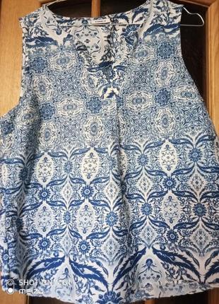 Блуза-поло  с американской проймой р-р 38 майка