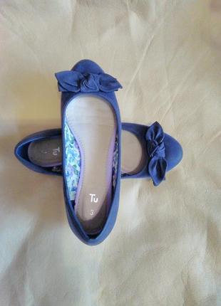 Балетки/ лодочки/туфли  36 размера от tu