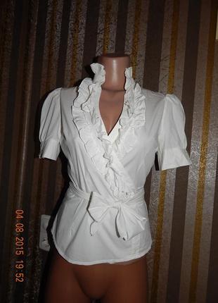 Школьная блуза подойдет на размер м