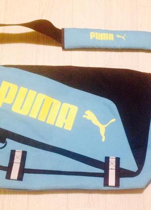 Новая оригинал большая сумка мессенджер puma